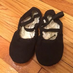 Canvas ballet slippers